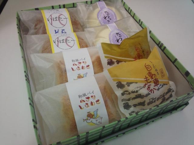 焼き菓子8個入り 1340円