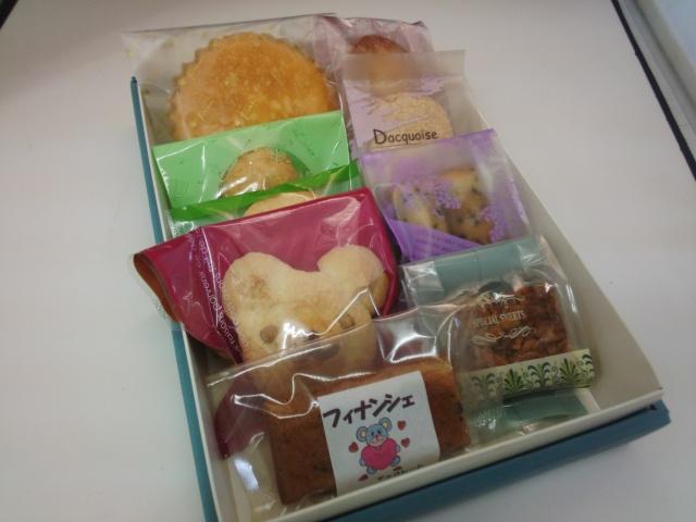 焼き菓子9入り詰め合わせ 1500円